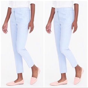 J.Crew Skimmer Pant in Cotton Oxford